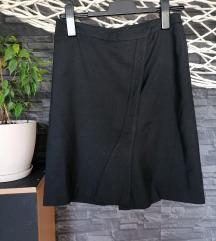 Suknja Paul Smith od čiste runske vune