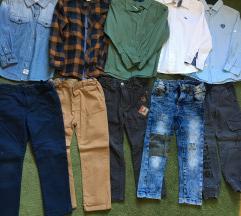 Kosulje i pantalone 3-4god.