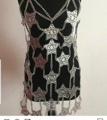 Metalna haljina sa zvezdicama