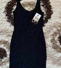 Shape crna haljina