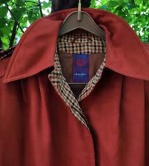 Vintage mantil sa karo detaljima vel. M/L