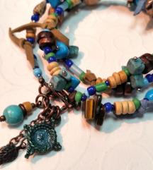 Narukvica/ogrlica od prirodnih materijala