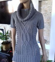H&M topao dzemper kratki rukav 15% vuna,10% angora