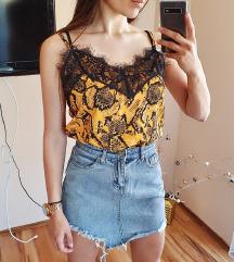 Snake bluza sa cipkom Novo