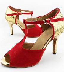 Kozne cipele za salsu