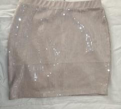 H&M suknja šljokice