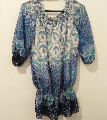 Plava tunika - bluza