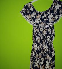 Duga haljina sa prelepim printom