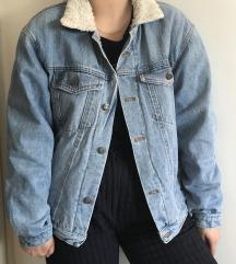 Levis teksas jakna sa krznom unutra