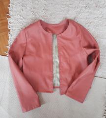 Dizajnerska roze jaknica-novo 👌