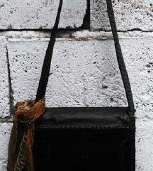 Unikatna vintage torbica od prirodne koze