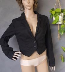 H&M teksas crni sako jaknica
