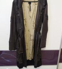 Prava premekana koza, dugacki mantil/jakna