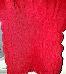 Crop majica sa puf rukavima