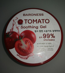 Baroness tomato soothing gel