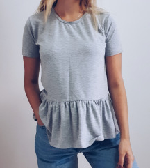 Siva majica sa valom
