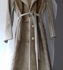otmen  kaput mantil   koza - krzno Novo