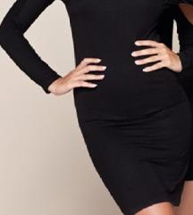 Crna haljina M vel