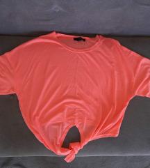 ReZzNove pink majice S- crop i puf rukavi