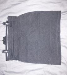 Siva duboka suknja
