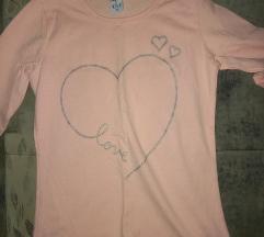 Nova roze bluza