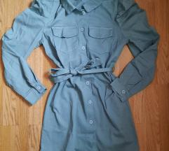 Zelena haljina letnja i prolecna
