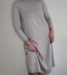 ITALY fina bež džemper haljina NOVO