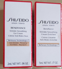 Shiseido Benefiance set krema, original