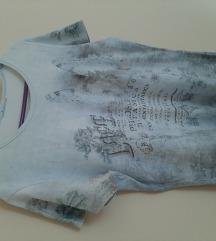 Majica sa cirkonima botanica