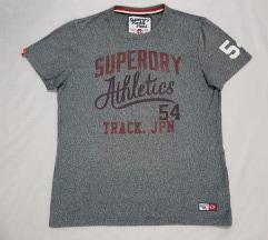 Superdry original muska siva majica HIT CENA