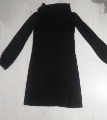 Braon dzemper haljina velicina M
