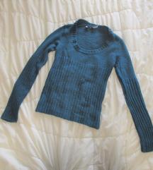 38. Terranova džemper tirkiz sa dugim rukavima