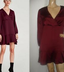 ZARA Basic, divna saten haljina! Novo!