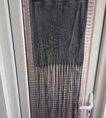TALLY WEIJL suknja sa resama vel 36