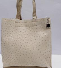 ITALY nova torba prirodna fina 100%koža 28x28
