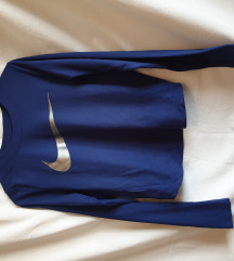 Nike dri-fit majica dugih rukava crop