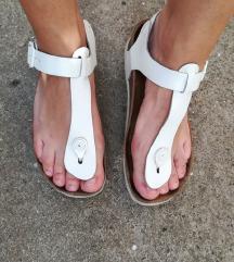 Grubin sandale bele