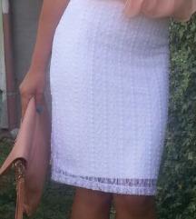 Bela suknja S SNIZENO!!!