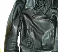 ZARA kožna bajkerska jakna