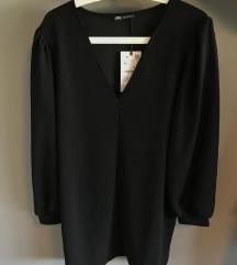 Haljina crna Zara nova sa etiketom