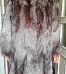 Nova bunda od srebrne lisice 40