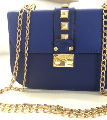 VALENTINO Like Royal Blue torba NOVO