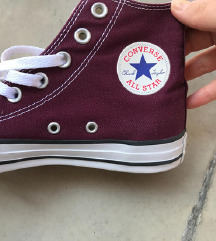 All Star Converse original starke u bordo boji