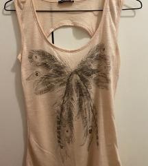 Terranova prljavo roza pamučna majica