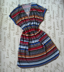 NEXT- Essential collection wrap haljina u printu