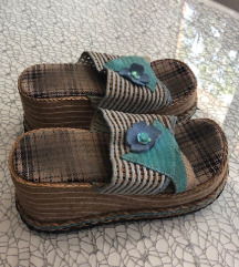 papuce sa platformom