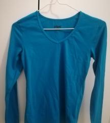 Ideal plava basic majica dug rukav