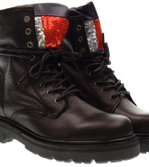 Tommy Hilfiger BIG FLAG SPARKLE LAC ankle boots 41