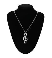 Ogrlica sa priveskom violinski ključ