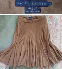 RALPH LAUREN - PRIRODNA KOZA - nova suknja br.4